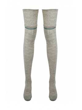 Overknee Socks 3998-95 von Nü by Staff-Woman in Seasand