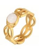 Ring R918 von Sence-Copenhagen in Gold - Größe 8