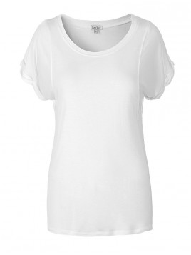 T-Shirt Lianne von Part Two in Weiß