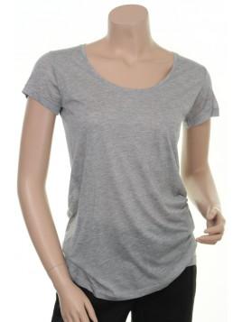 Modal T-Shirt 1-5177-1 von Noa Noa in Grey Melange