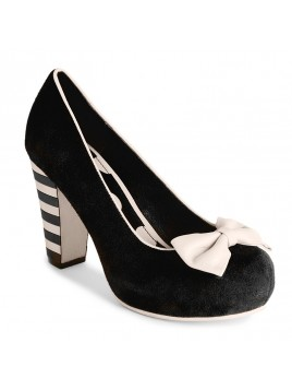 Schuh AngieP von Lola Ramona in Black-Suede
