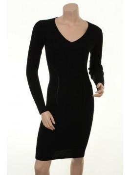 Stretch-Kleid Agnola von Part-Two in Black