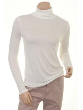 Rollkragen-Shirt Afina von Part-Two in Soft White