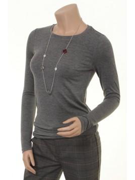 T-Shirt Bamaja von Part-Two in medium grey melange