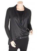 Seidenhemd 4660-40 von Nü by Staff-Woman in Black