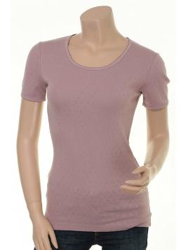 Baumwoll T-Shirt Maren von Sorgenfri Sylt in Powder