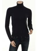 Rollkragen-Pullover Liva Knit von InWear in blue