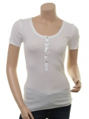 Kurzarm T-Shirt 1-6287-2 von Noa Noa in white