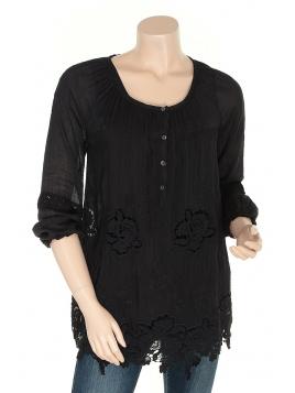 Bluse Jerille von Container in black