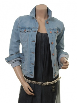 Jeansjacke Arelis von Part-Two in Light Blue Denim