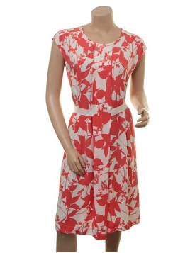 Kleid Doanna von Part-Two in Artwork Medium Pink