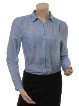 Shirt Danna von Part-Two in Blue Heron