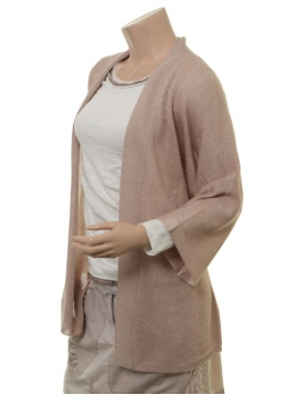 Strickjacke Dahna von Part-Two in Beige Melange