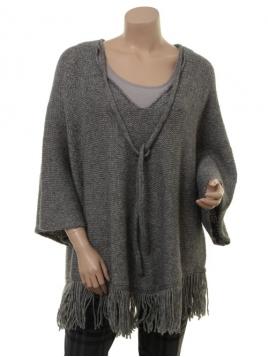 Pullover Evanna von Part-Two in Medium Grey Melange