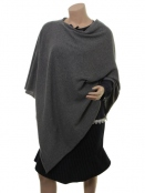 Poncho Kristianna von Part Two in Grey Melange