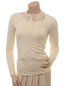 Langarm T-Shirt 1-6232-2 von Noa Noa in seedpearl