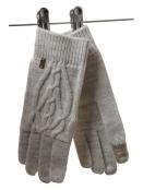 Handschuhe Wolly Knit (1-6776-1) von Noa Noa in Grey Melange