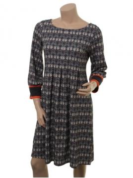 Kleid Calm Claire von Du Milde in grau