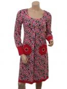 Kleid Golly Gudrun von Du Milde in rot