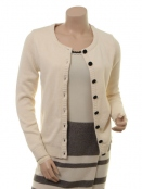 Strickjacke Notting Hill von Margot in Creamy White