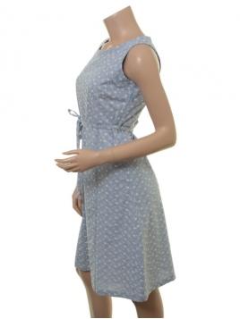 Kleid Edda von Sorgenfri Sylt in Light blue