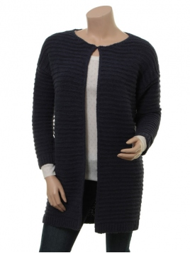 Strickjacke Grinn von Part-Two in Blue Graphite