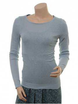 Langarm T-Shirt 1-6236-4 von Noa Noa in Ashley Blue