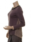Pullover 1-7216-1 von Noa Noa in purple melange