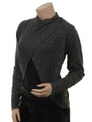 Blouse 4954-66 von Nü Denmark in Anthracite Grey