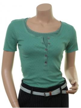 Kurzarm T-Shirt 1-6287-2 von Noa Noa in beryl