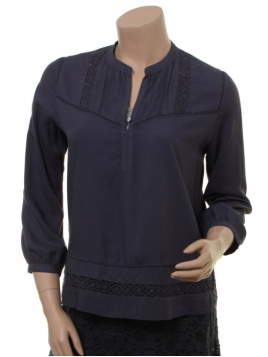 Blouse 1-7381-1 von Noa Noa in graystone