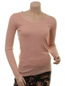 Langarm T-Shirt 1-6286-4 von Noa Noa in Mahagony Rose