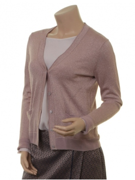 Lurex-Cardigan 1-7492-1 von Noa Noa in Shadow gray