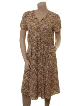 Twill-Kleid 1-7724-1 von Noa Noa in print yellow
