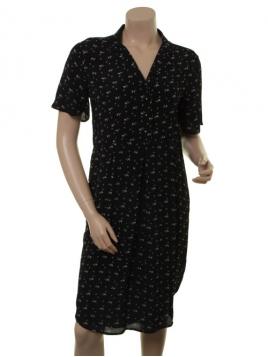 Beach Flower Kleid 1-7729-1 von Noa Noa in print black