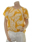 Blouse Delfina von Part-Two Artwork Medium Yellow