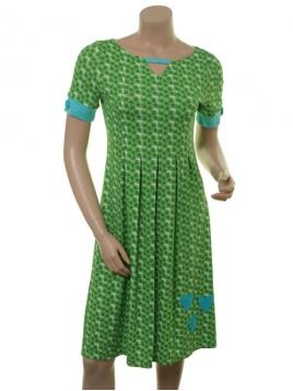 Kleid Almina Limelight von Du Milde