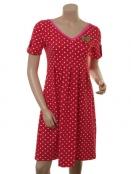 Kleid Sweet Cherry Almina von Du Milde