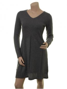 Kaschmir-Knitwear-Kleid Osrun von Sorgenfri Sylt in Stone