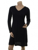 Kaschmir-Knitwear-Kleid Osrun von Sorgenfri Sylt in Midnight