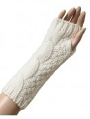 Kaschmir-Gloves Ebba von Sorgenfri Sylt in Ivory