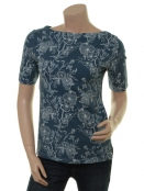 Kurzarm T-Shirt Bluing von Endless Moda Denmark