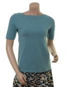 Kurzarm T-Shirt Buna Blue von Endless Moda Denmark