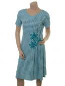 Kleid Poula Turqouise Delight von Du Milde