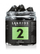 No.2 - Salty Liquorice (170g) von Lakrids by Johan Bülow