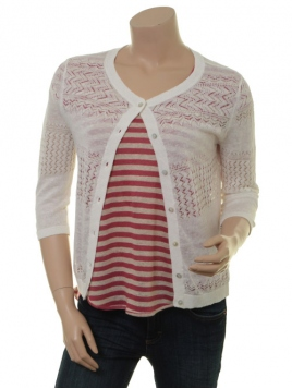 Leinen-Cardigan 1-7499-1 von Noa Noa in cloud dancer