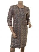 Kleid Frankiela von Part-Two in Artwork Multi Color