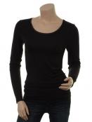 T-Shirt langarm (1-6232-5) von Noa Noa in Black