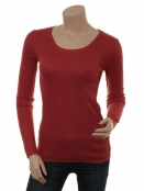 Modal T-Shirt 1-6286-5 von Noa Noa in Barn Red