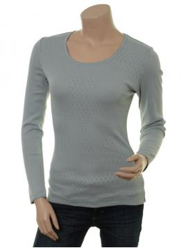 Langarm T-Shirt Malin (27-045-105) von Sorgenfri Sylt in Cloud
